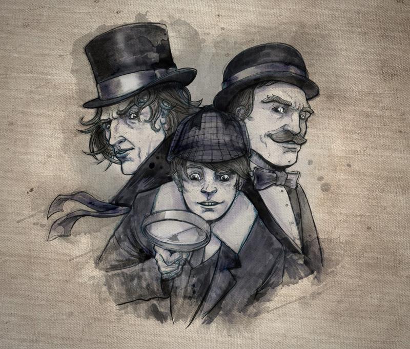 Sherlock Holmes & Young Winston
